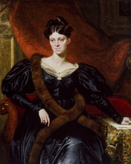 A portrait of Harriet Martineau