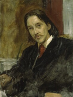 A portrait of Robert Louis Stevenson