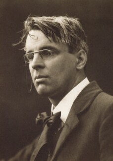 A portrait of William Butler Yeats