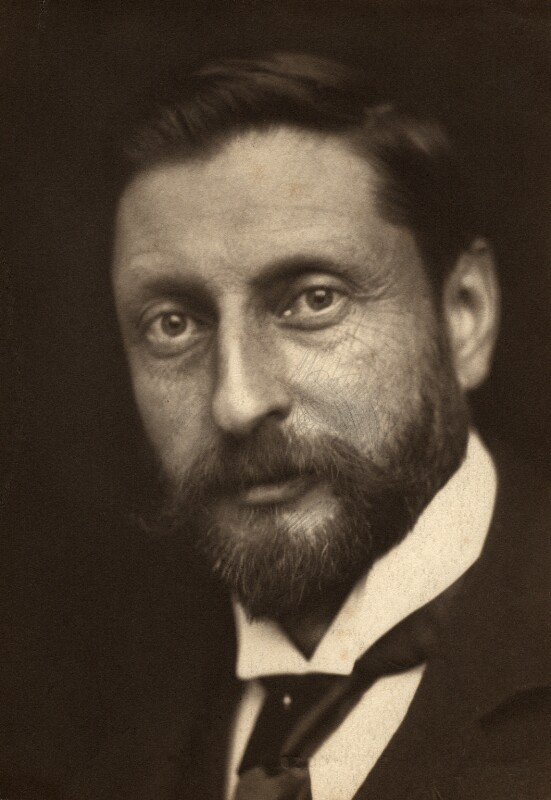 A portrait of H. Rider Haggard