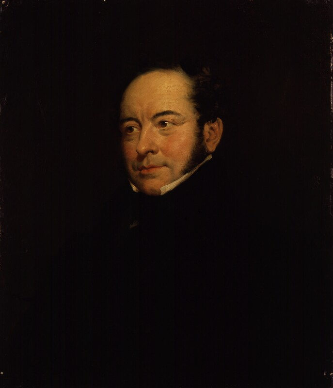 A portrait of Theodore Hook