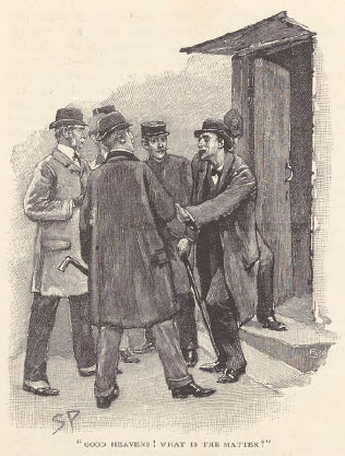 A sample page from The Adventure of the Reigate Squire by Arthur Conan Doyle