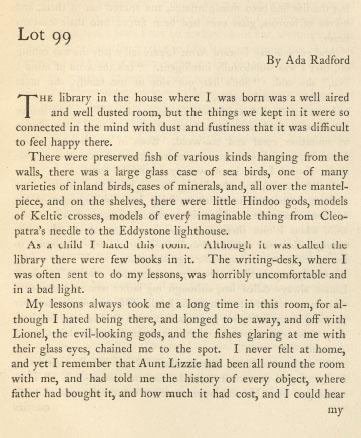 Portrait of Ada Radford