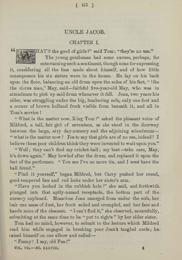A sample page from Uncle Jacob, Part 2 by Anonymous