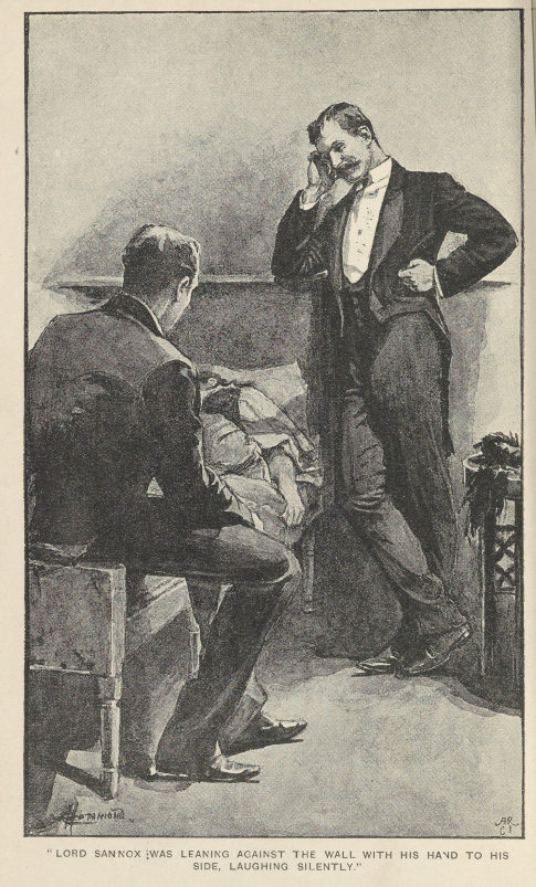 A sample page from The Case of Lady Sannox by Arthur Conan Doyle