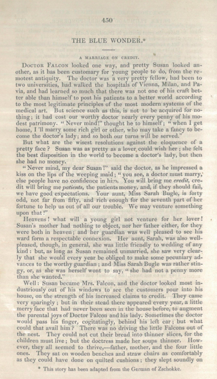 A sample page from The Blue Wonder by Anonymous
