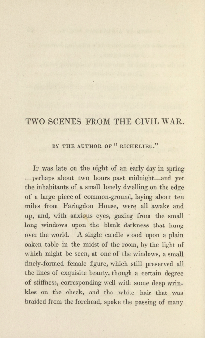 A sample page from Two Scenes from the Civil War by Anonymous