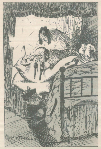 A sample page from Galenzi's Revenge by Allan Monkhouse