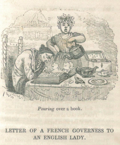A sample page from Letter of a French Governess to an English Lady by Louisa H. Sheridan