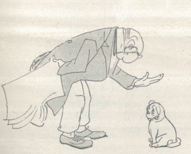 A sample page from Fables, The Little Dog by J. A. Shepard