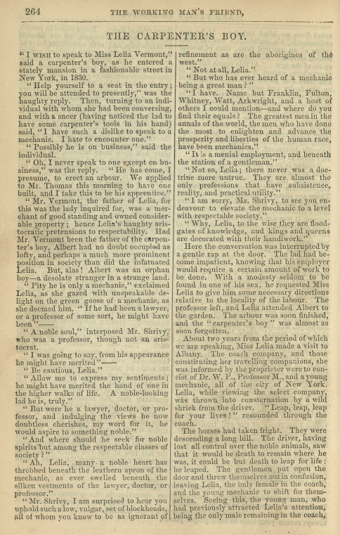 A sample page from The Carpenter's Boy by Anonymous