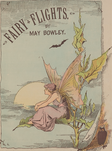 A sample page from Fairy Flights by May Bowley
