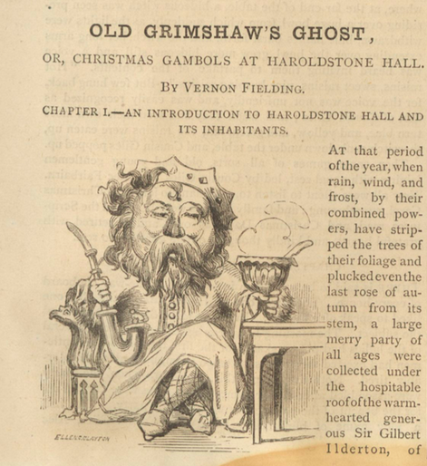 A sample page from Old Grimshaw's Ghost, Part 3 by Vernon Fielding